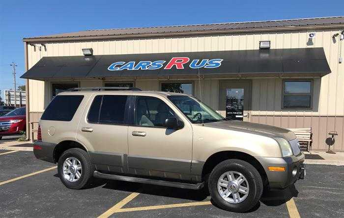 Cars R Us Strafford Mo >> 2003 Mercury Mountaineer 6900 00 For Sale In Strafford Mo
