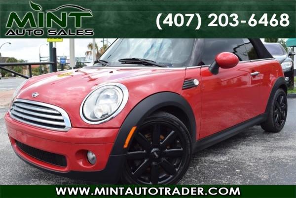 Mini Cooper Cabrio 2010 $4900.00 incacar.com