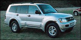 Mitsubishi Montero 2001 $2624.00 incacar.com