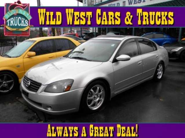 Wild West Cars And Trucks >> 2005 Nissan Altima 5980 00 For Sale In Seattle Wa 98115