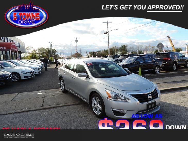 Nissan Altima 2014 $6813.00 incacar.com
