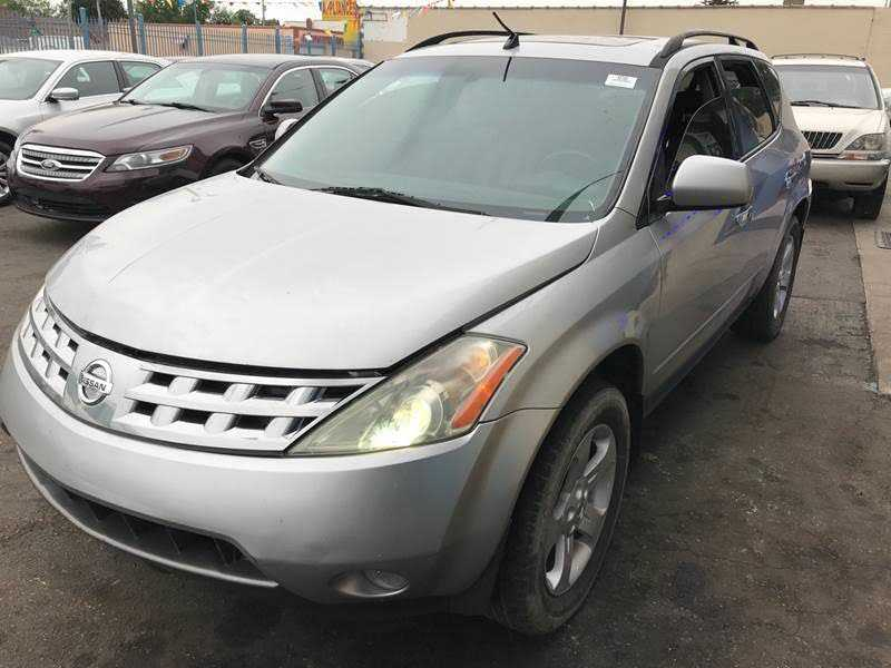 Nissan Murano 2003 $995.00 incacar.com