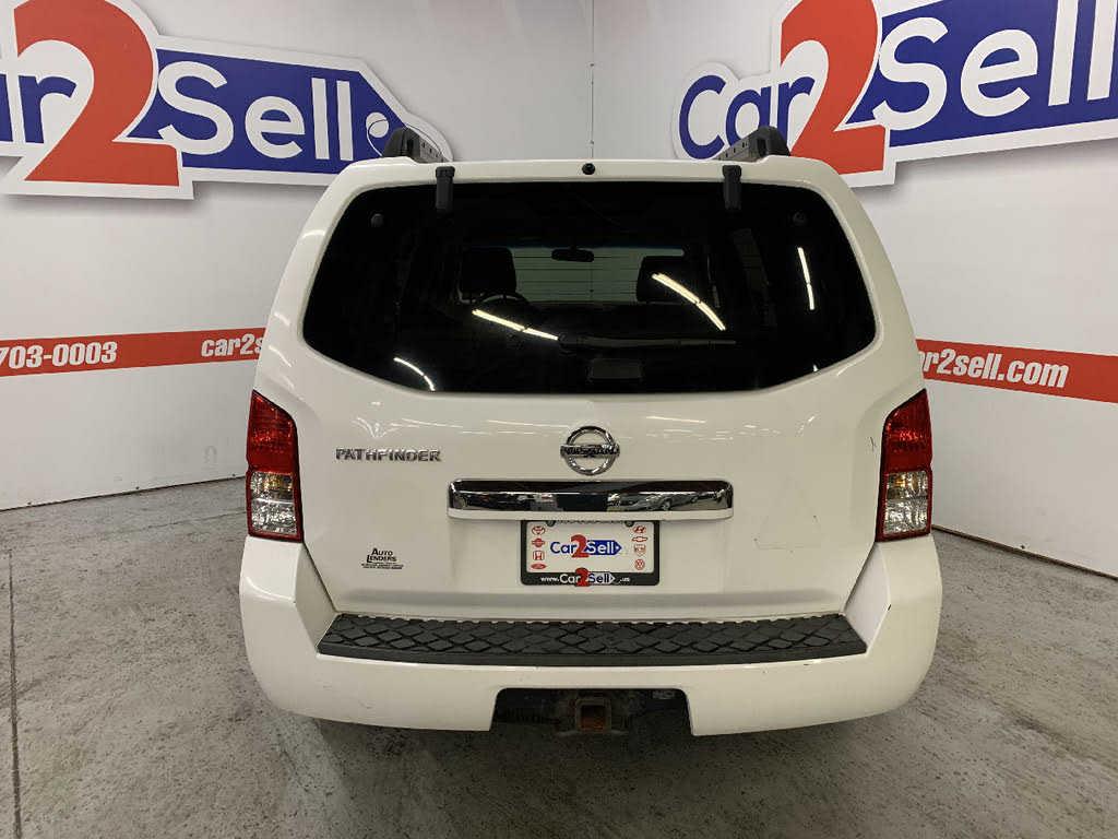 used Nissan Pathfinder 2008 vin: 5N1AR18BX8C648893