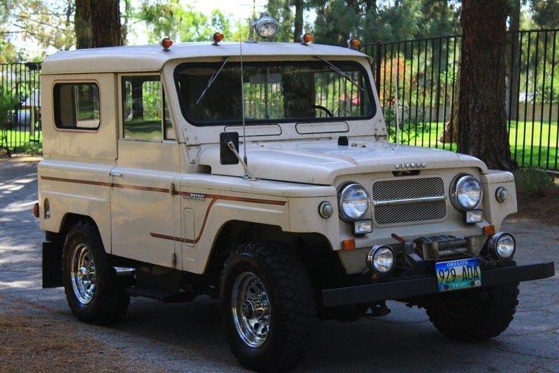 Nissan Patrol 1969 $15000.00 incacar.com