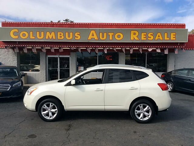 used Nissan Rogue 2008 vin: JN8AS58V28W408394