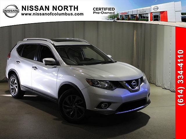 used Nissan Rogue 2016 vin: 5N1AT2MV6GC888478