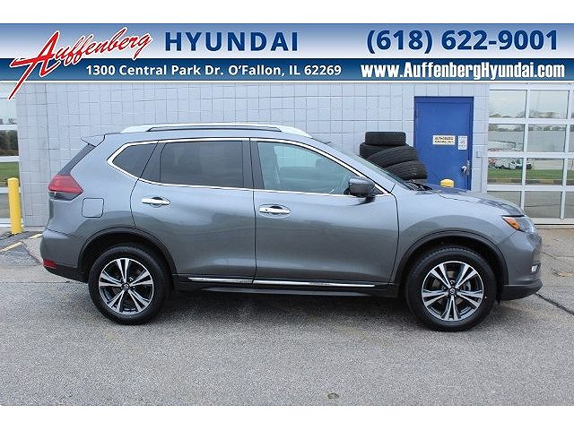 used Nissan Rogue 2018 vin: 5N1AT2MV4JC784515