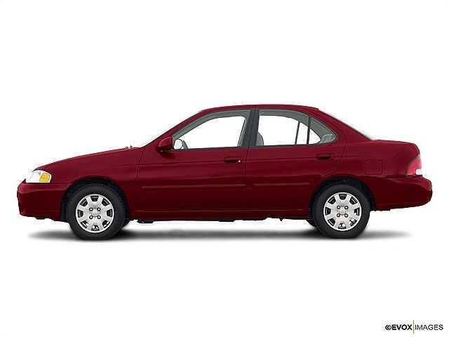 used Nissan Sentra 2002 vin: 3N1CB51D62L692683