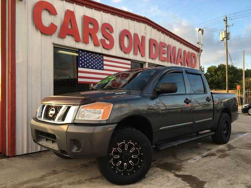 Nissan Titan 2012 $7995.00 incacar.com