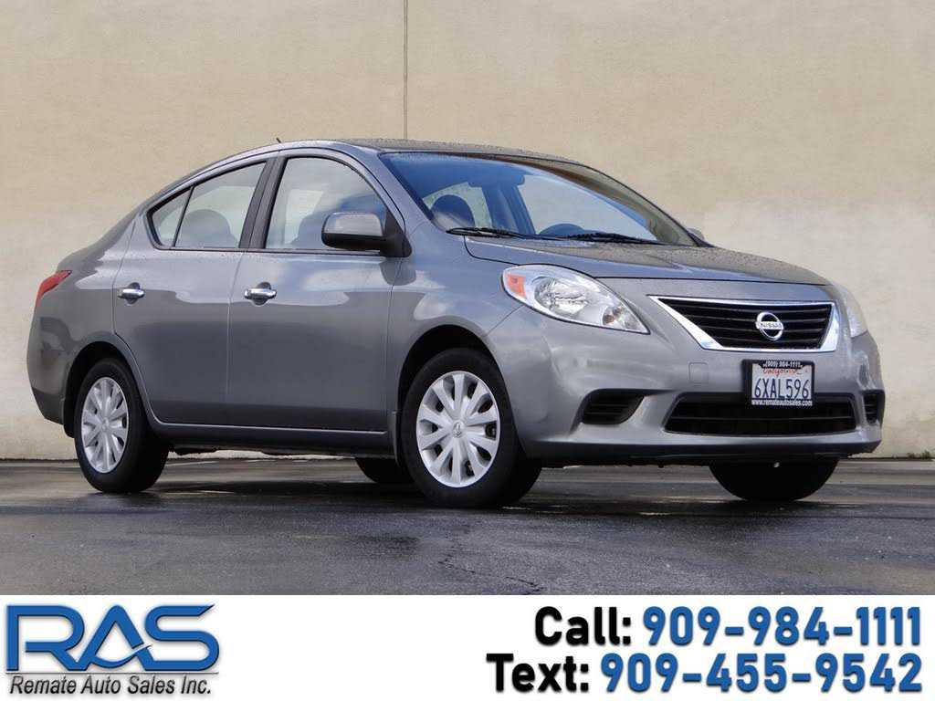 Nissan Versa 2012 $4499.00 incacar.com