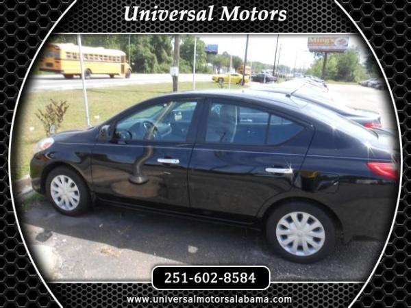 Nissan Versa 2013 $6124.00 incacar.com