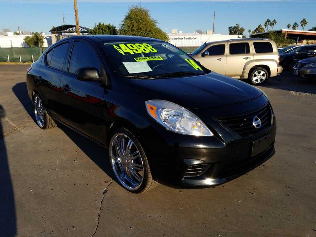 Nissan Versa 2014 $4988.00 incacar.com