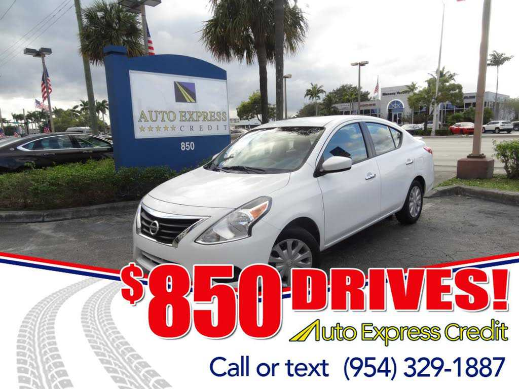 2015 Nissan Versa 625000 For Sale In Plantation FL 33317