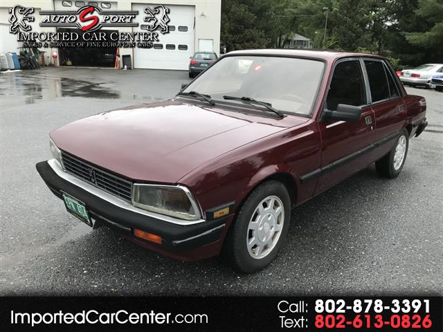 used Peugeot 505 1986 vin: VF3BA61Y4GS406851