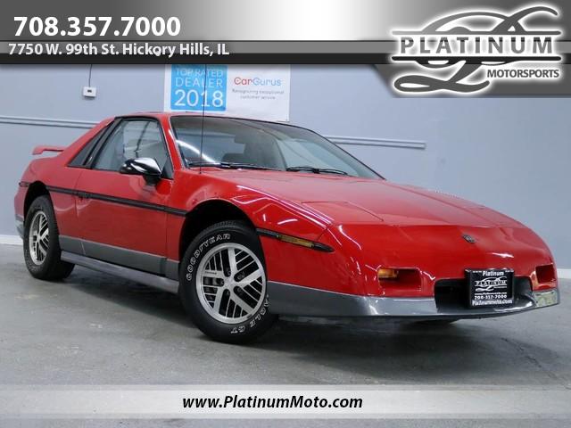 Pontiac Fiero 1985 $5991.00 incacar.com