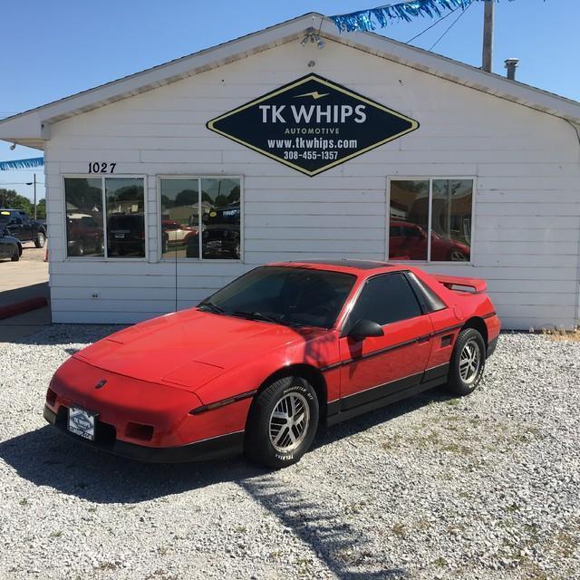 Pontiac Fiero 1986 $3999.00 incacar.com