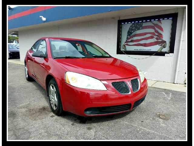 Pontiac G6 2007 $1995.00 incacar.com