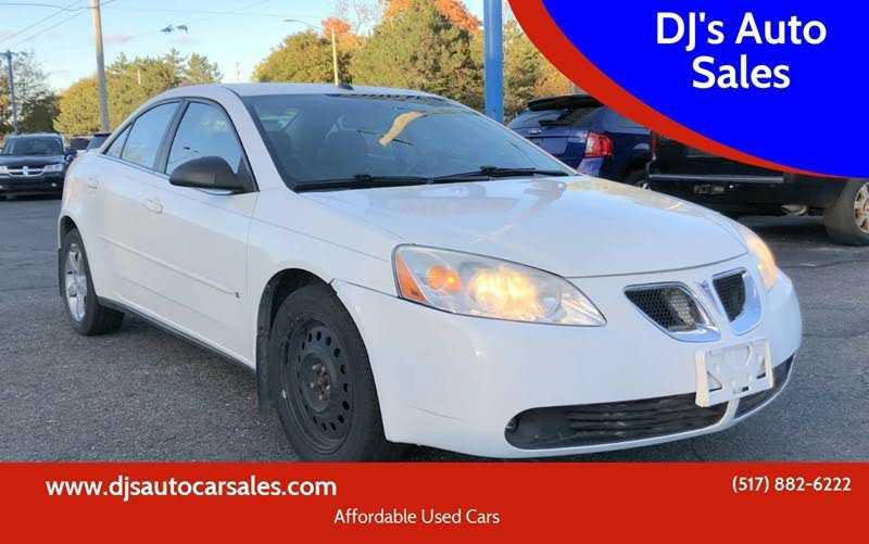 Pontiac G6 2008 $2500.00 incacar.com
