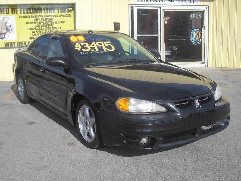 Pontiac Grand Am 2004 $3495.00 incacar.com