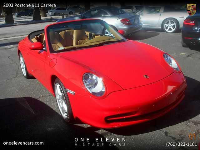 Porsche 911 2003 $33500.00 incacar.com