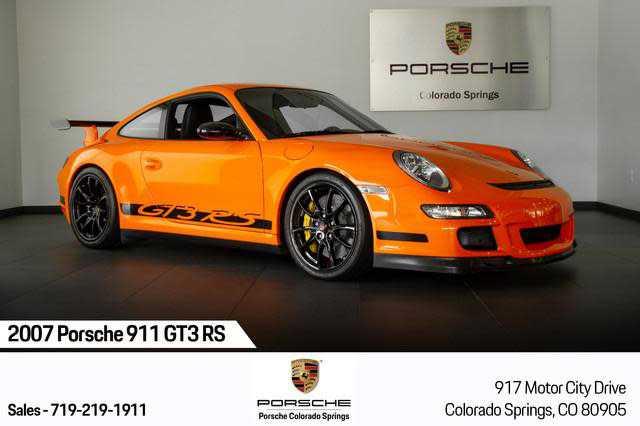 used Porsche 911 2007 vin: WP0AC29977S792543