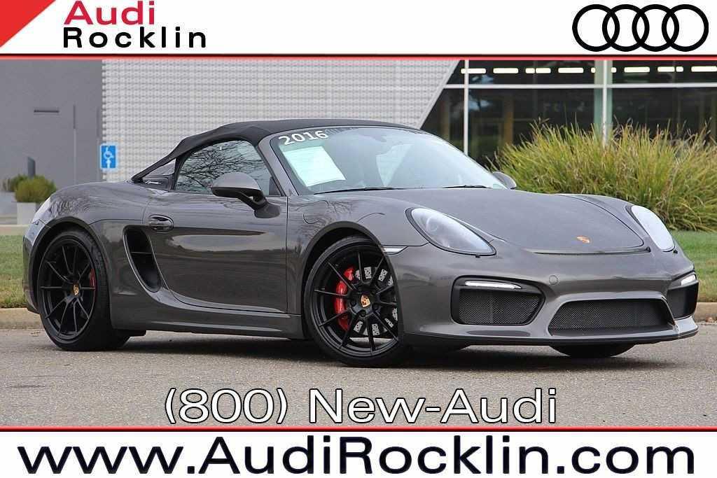 Porsche Boxster 2016 $92900.00 incacar.com