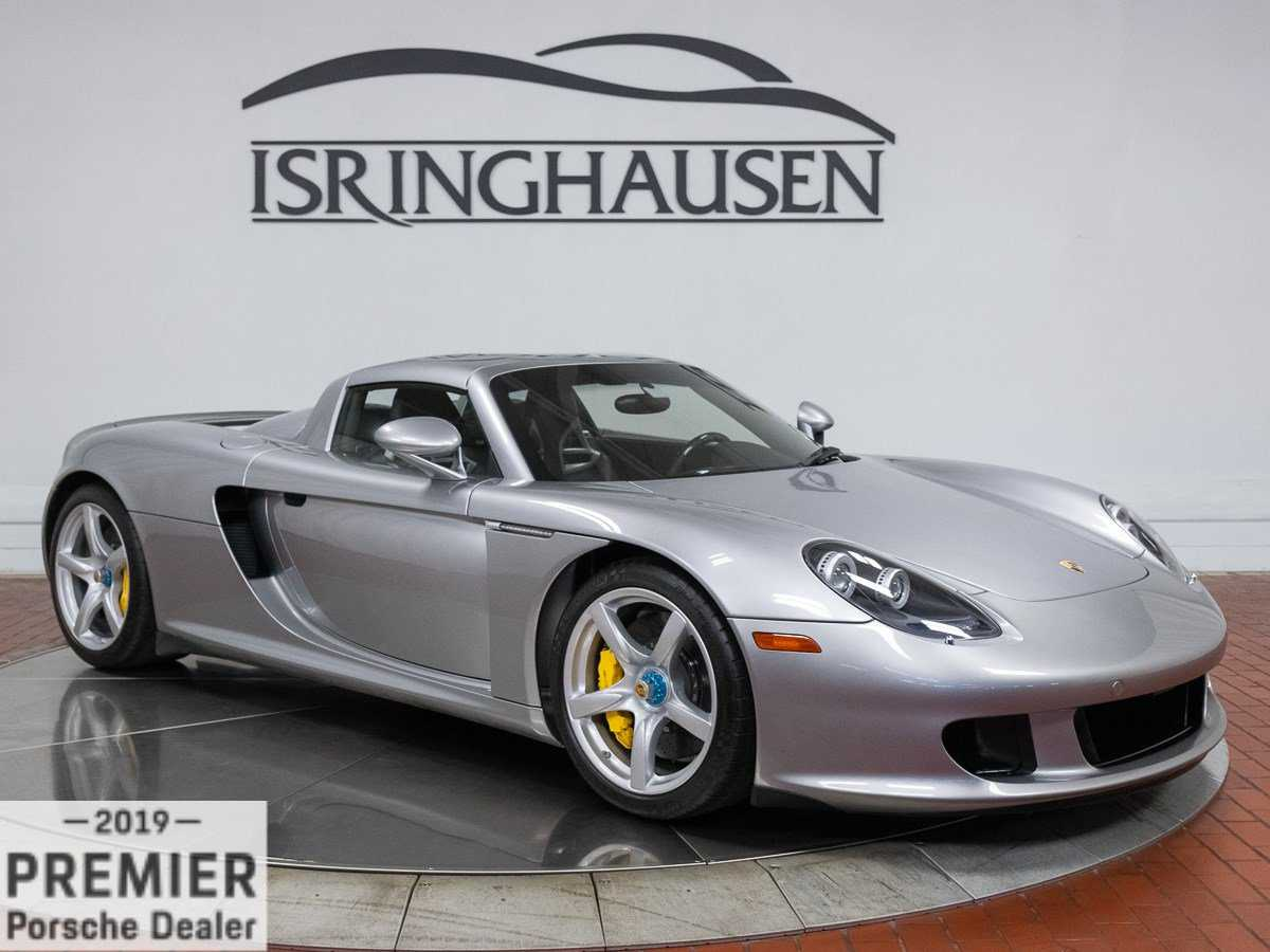 used Porsche Carrera GT 2005 vin: WP0CA29815L001467