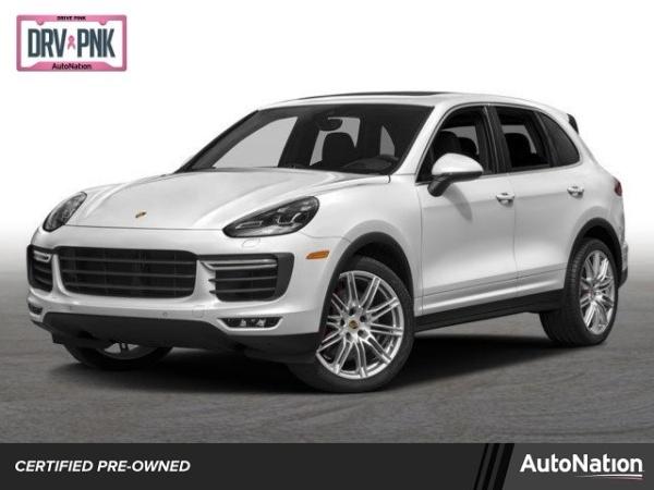 used Porsche Cayenne 2018 vin: WP1AC2A20JLA85234