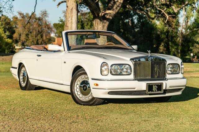 Rolls-Royce Corniche 2000 $104000.00 incacar.com