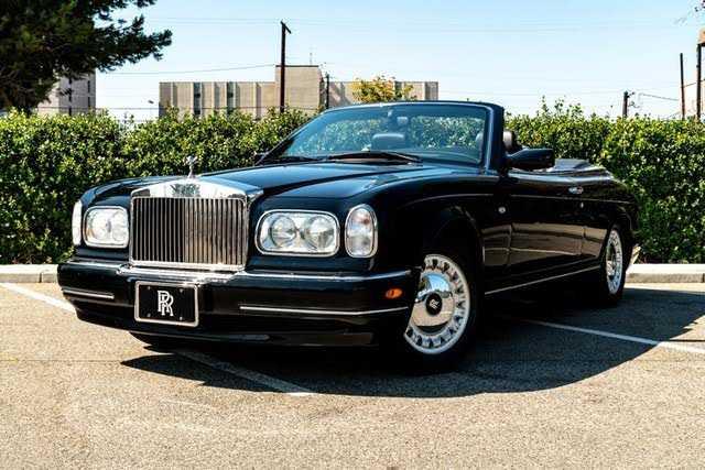 Rolls-Royce Corniche 2000 $92000.00 incacar.com