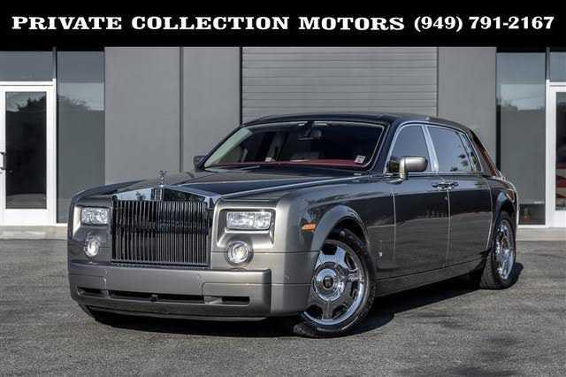 used Rolls-Royce Phantom 2007 vin: SCA1L68537UX23009