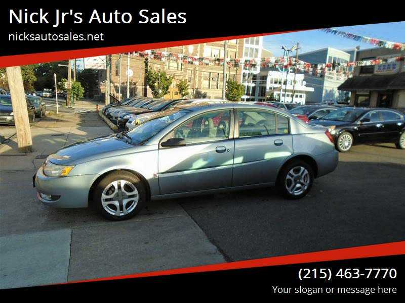 Saturn Ion 2003 $2995.00 incacar.com