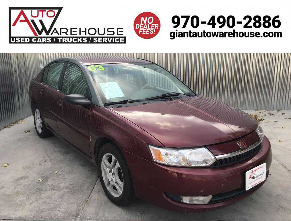 used Saturn Ion 2003 vin: 1G8AL52F63Z118896