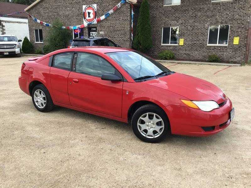 used Saturn Ion 2004 vin: 1G8AM12F84Z124769