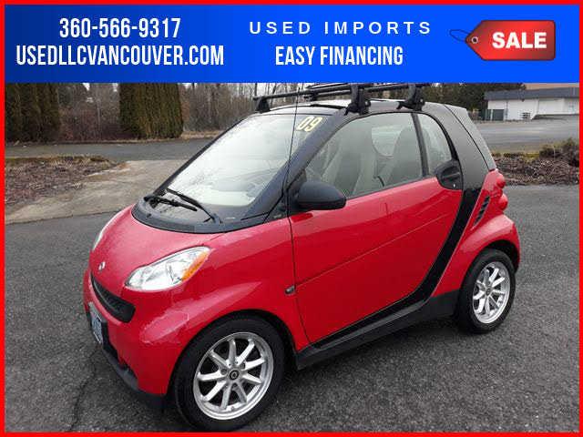 Smart fortwo 2009 $2500.00 incacar.com