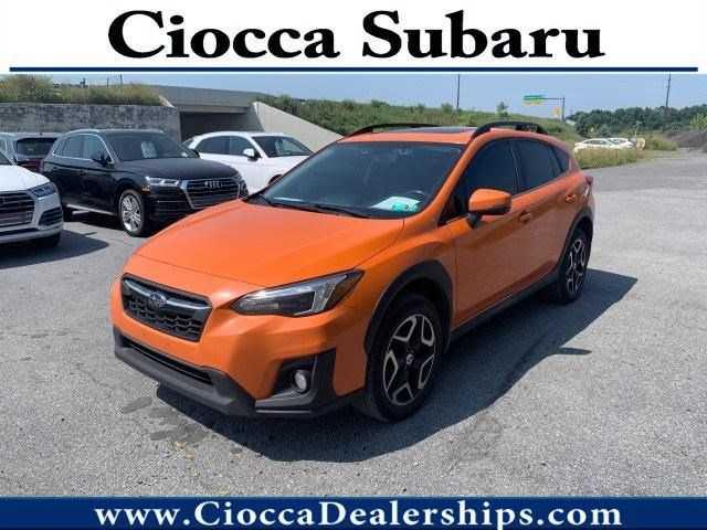 used Subaru Crosstrek 2018 vin: JF2GTALC3JH221680