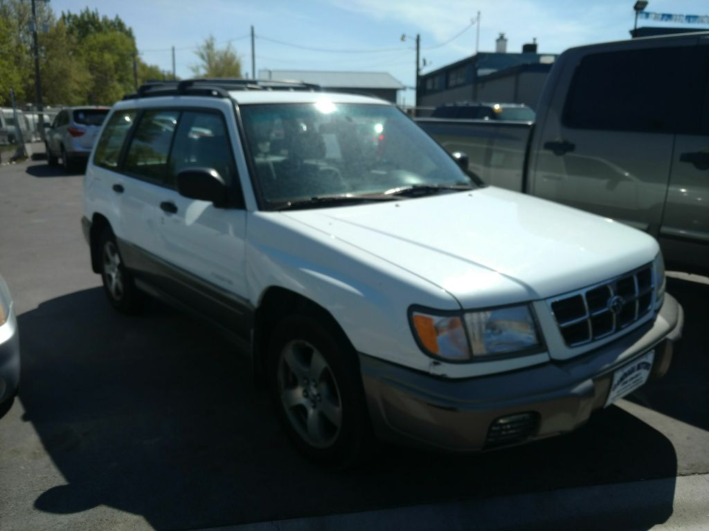 used Subaru Forester 1999 vin: JF1SF6559XH737102
