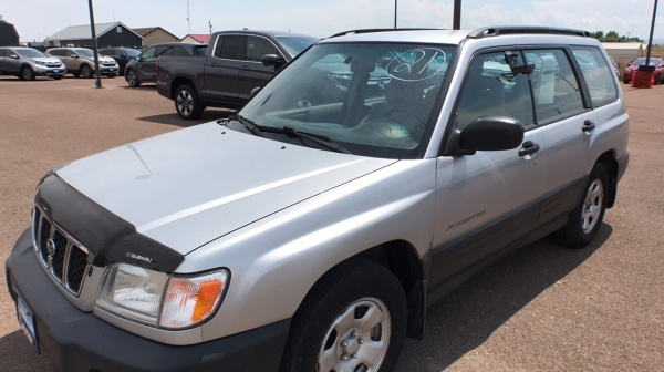 used Subaru Forester 2002 vin: JF1SF63582G746407