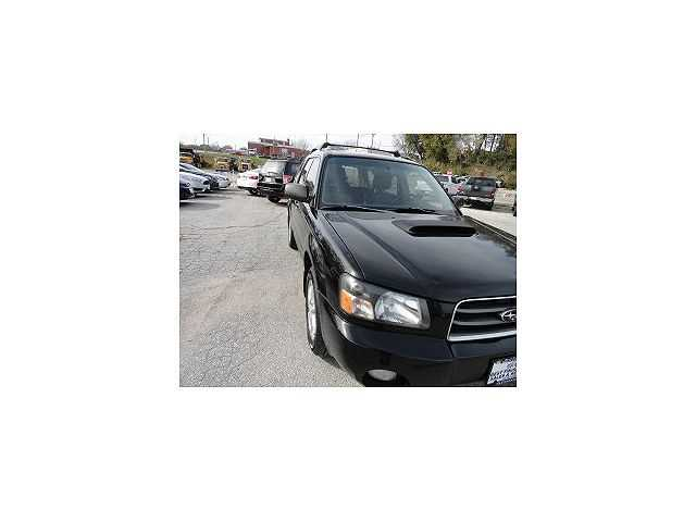 used Subaru Forester 2005 vin: JF1SG69625H702351