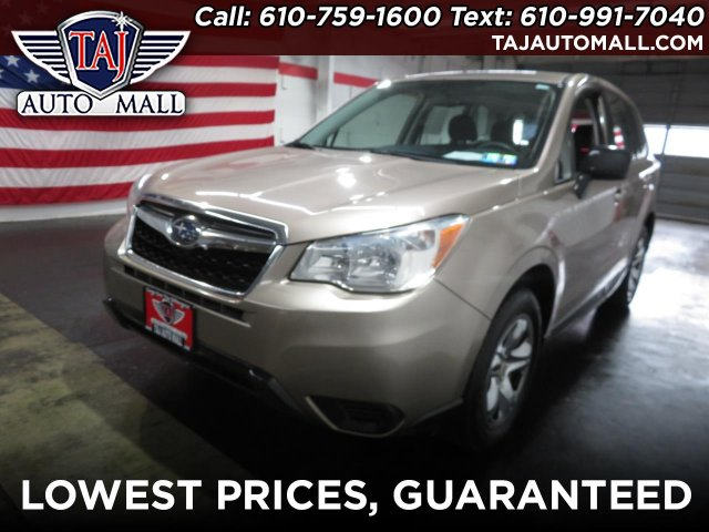 used Subaru Forester 2014 vin: JF2SJAAC1EH412040