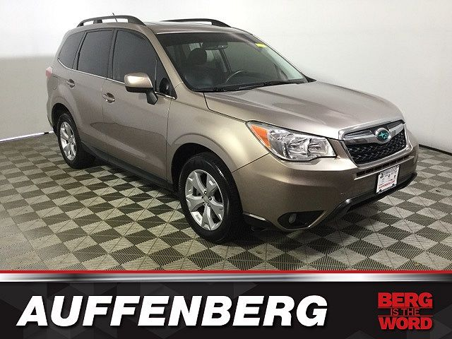 used Subaru Forester 2015 vin: JF2SJAHC7FH500520