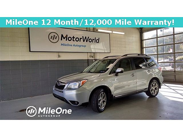 used Subaru Forester 2016 vin: JF2SJAXC9GH448147