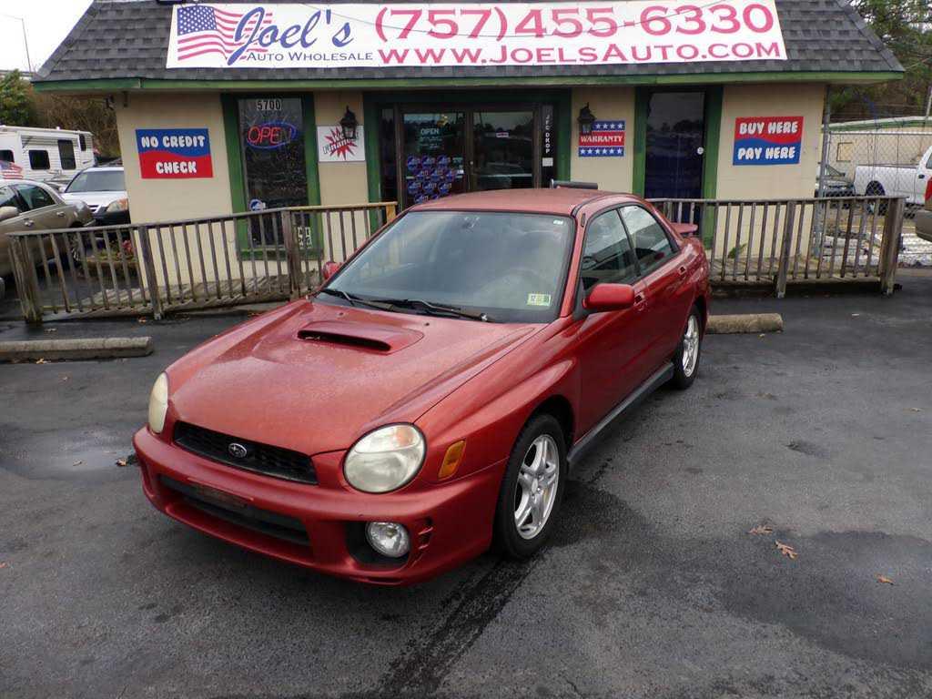 Subaru Impreza WRX 2003 $4995.00 incacar.com