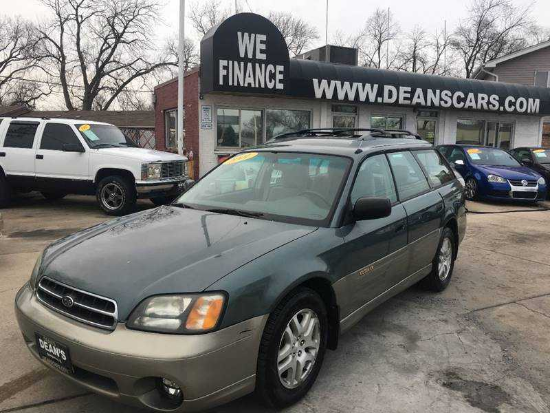 Subaru Outback 2001 $2488.00 incacar.com