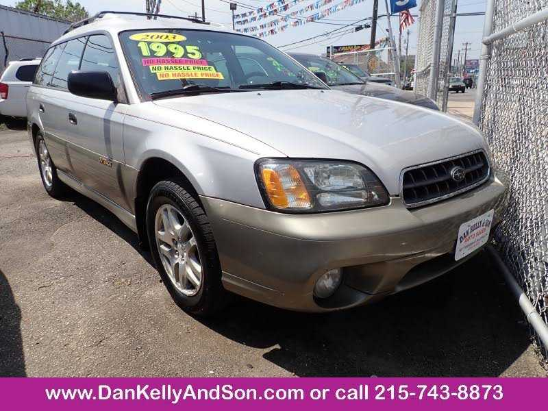 used Subaru Outback 2003 vin: 4S3BH675837636120