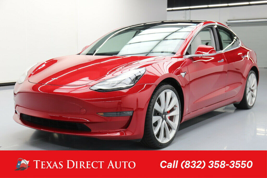 Tesla Model 3 2018 $63510.00 incacar.com