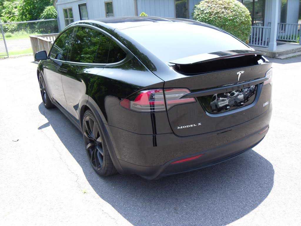 used Tesla Model X 2016 vin: 5YJXCDE48GF029928