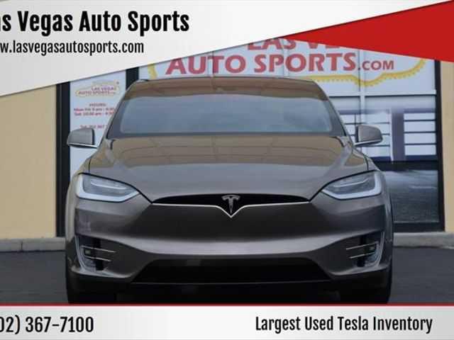 used Tesla Model X 2016 vin: 5YJXCBE23GF004597