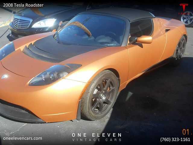 Tesla Roadster 2008 $56900.00 incacar.com