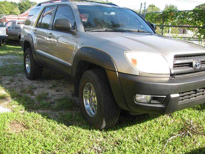 Toyota 4Runner 2003 $5800.00 incacar.com